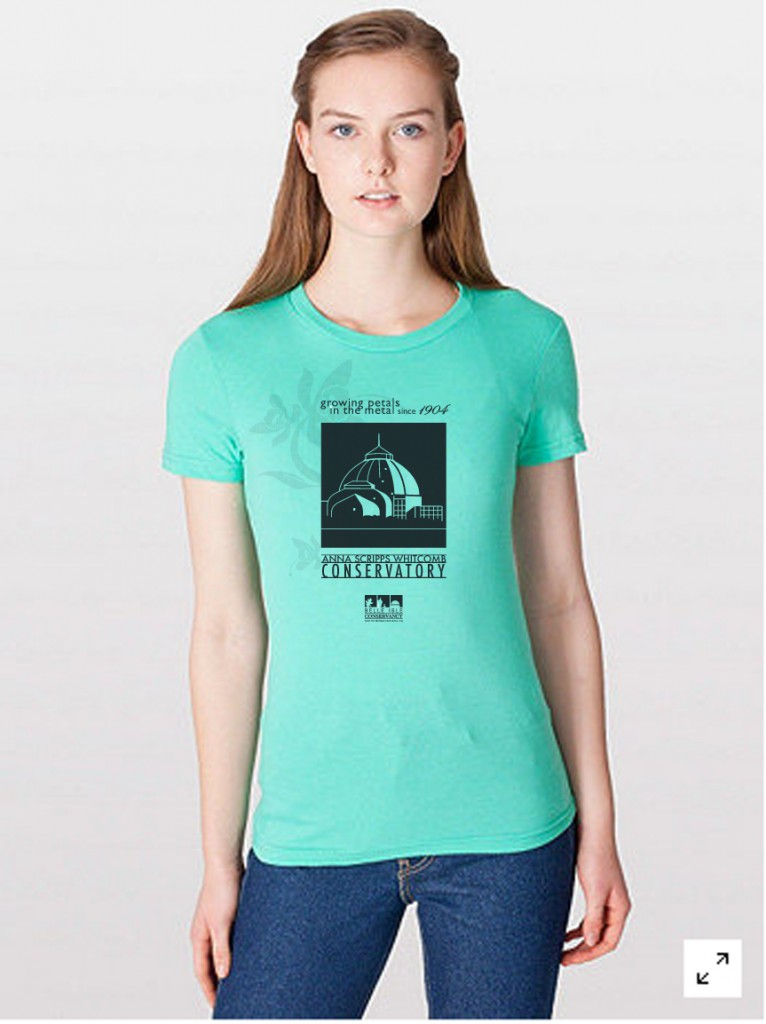 Tshirt Mint wm